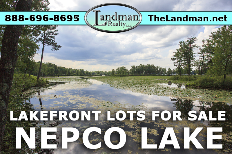 Nepco Waterfront Properties for Sale by Snowmobiling