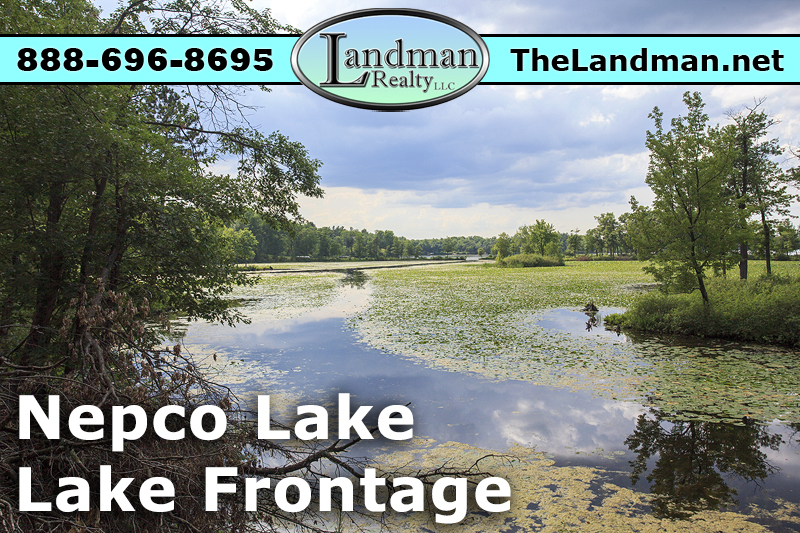 Nepco Lake Lot for Sale by Snowmobiling