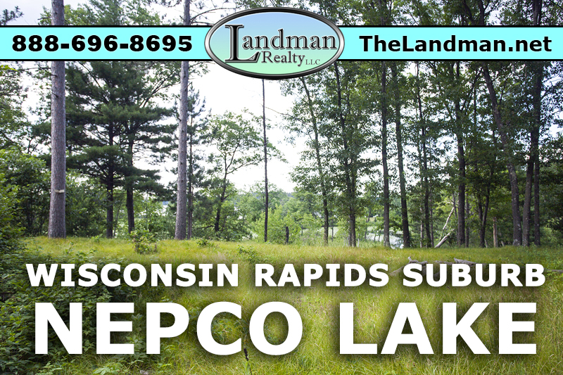 Nepco Lakefront Lot for Sale by Snowmobiling