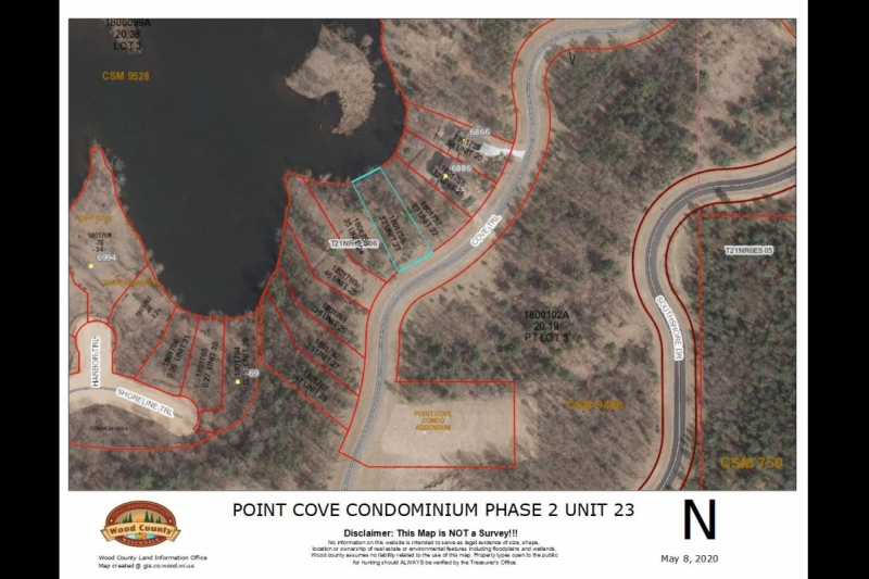 Nepco Lakefront Lot for Sale Wisconsin Rapids