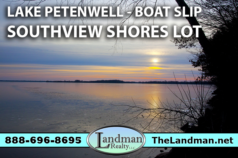 Petenwell Lake Access Lot for Sale by Snowmobile Trails