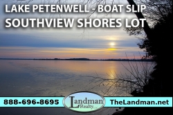 1873702, Petenwell Lake Access Lot for Sale by Snowmobile Trails