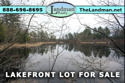 1881311, Friendship Lake Waterfront lot for Sale by Snowmobile Trails
